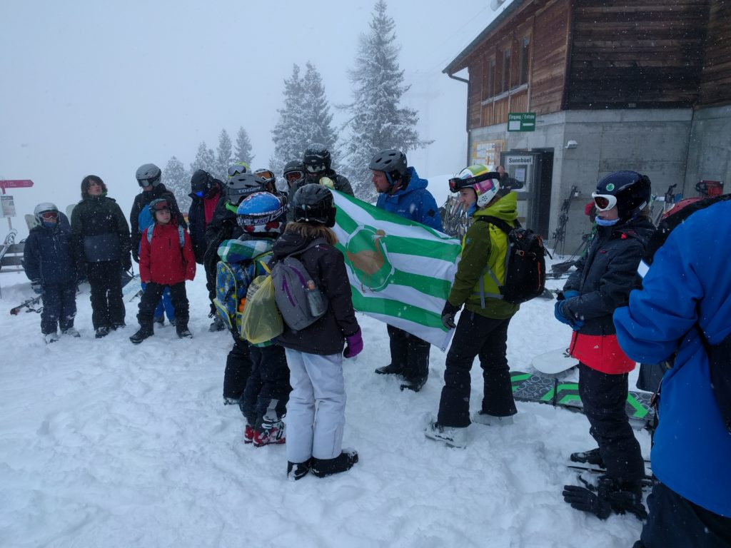 Investiture on the mountain