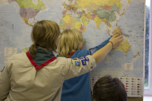Join Beavers to talk to Scouts the other side of the world!